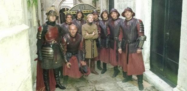 """Brasileiro interrompe férias para ser figurante de """"Game of Thrones"""""""
