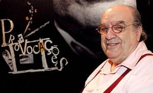 Programa Provocações, da TV Cultura Na foto: apresentador Antonio Abujamra Foto: Jair Bertolucci / Divulgação