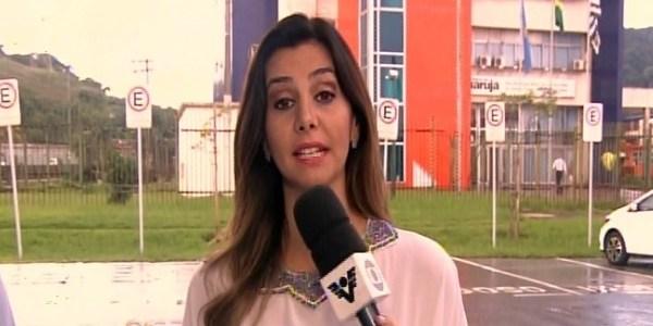 """""""Apontou a arma para mim"""", diz repórter da Globo sobre assalto ao vivo"""