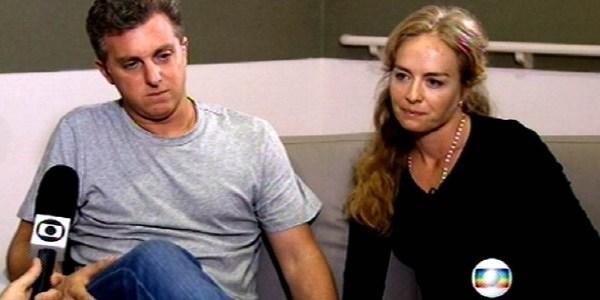 """Repórter do """"JN"""" fecha entrevista dizendo pra Huck e Angélica irem de táxi"""