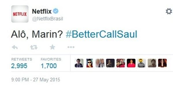 """Netflix brinca com detenção de Marin e sugere advogado de """"Breaking Bad"""""""