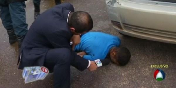 Repórter tenta entrevistar bandido morto após perseguição policial em SE