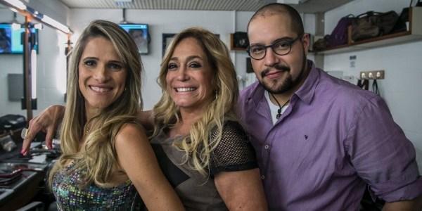 """Susana Vieira grava """"Chapa Quente"""" e diz que é uma das divas da Globo"""