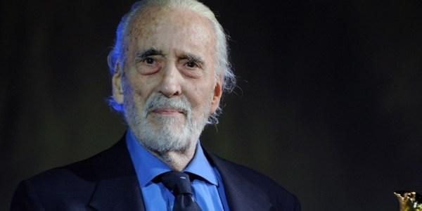 Famoso por Drácula e Saruman, ator Christopher Lee morre aos 93 anos