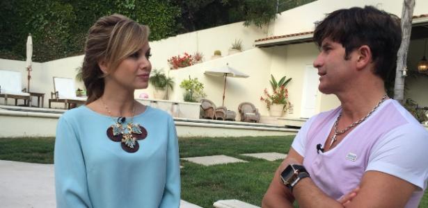 Apresentadora Eliana visita a mansão de US$ 21 milhões de Dr. Rey nos EUA