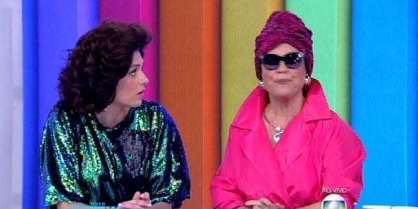 """Nos 30 anos de """"Roque Santeiro"""", Regina Duarte encarna Viúva Porcina na TV"""