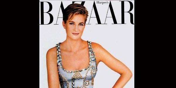 Vestido usado por Lady Di em capa de revista é leiloado por U$ 200 mil