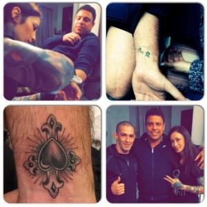 Ronaldo cobre tatuagem em homenagem a Cicarelli a pedido da atual namorada