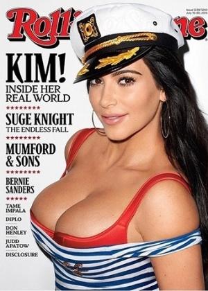 """""""Sou mais inteligente do que demonstro"""", diz Kim Kardashian"""