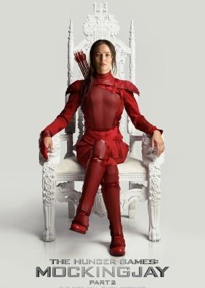"""Teaser de novo """"Jogos Vorazes"""" mostra Katniss Everdeen em cima de monumento"""