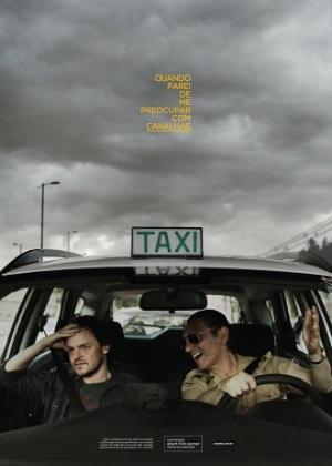 Paulo Miklos vive taxista reaça em curta baseado em HQ de Caco Galhardo