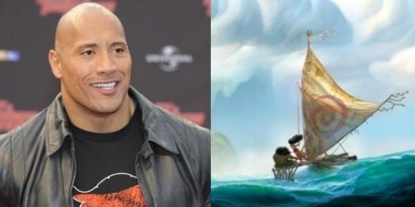 """""""Moana"""", dos diretores de """"A Pequena Sereia"""", terá The Rock como semideus"""