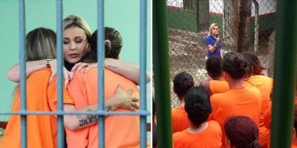 """Urach visita detentas de Santa Catarina: """"Poderia ter sido o meu fim"""""""