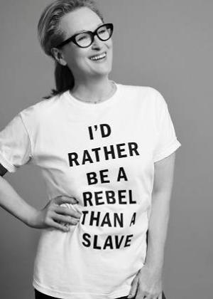 Meryl Streep causa surpresa ao declarar em entrevista que não é feminista