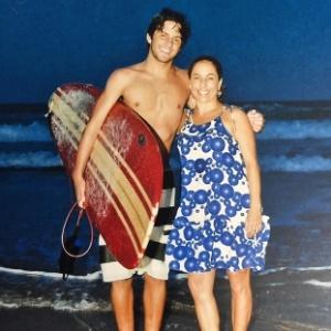 Cissa Guimarães homenageia o filho Rafael, morto há cinco anos