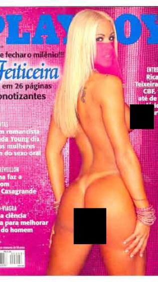 A Feiticeira Joana Prado é o recorde eterno de vendagem de Playboy