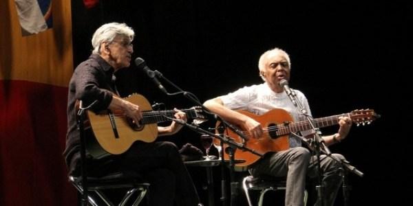 Caetano e Gil concorrem ao Grammy na categoria Álbum de World Music