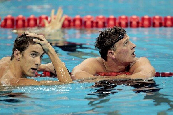 USA dominate real sports, like swimming