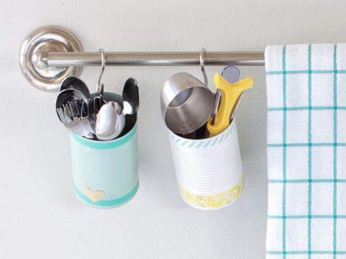 ideas chulas para reciclar latas