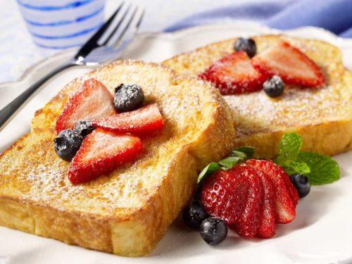 recetas con pan tostada francesa