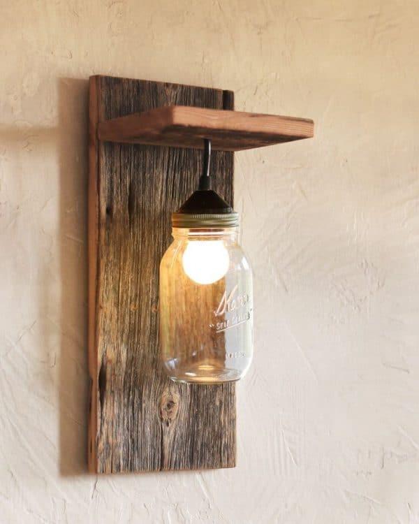 Como Hacer Lámparas De Madera Artesananes