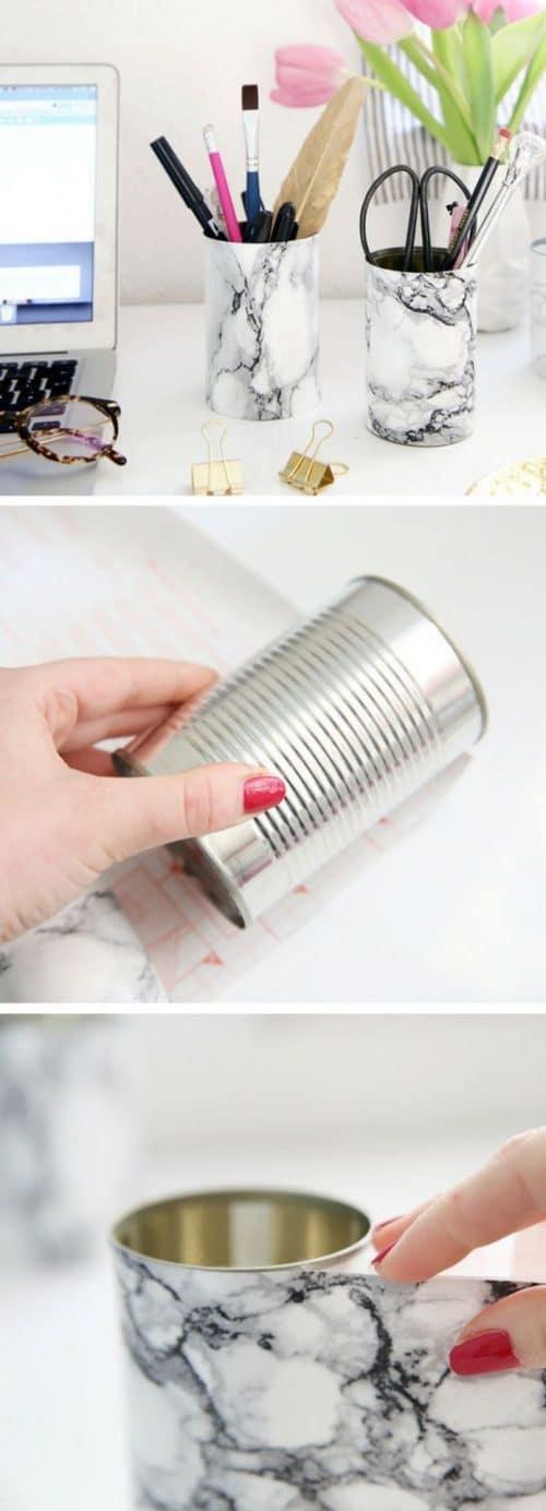Hacer portalápices DIY para la vuelta al cole