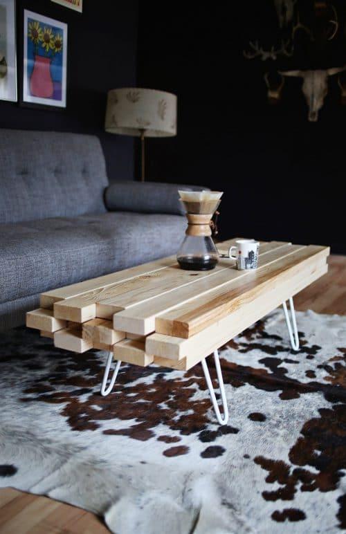 ideas para hacer mesas de centro