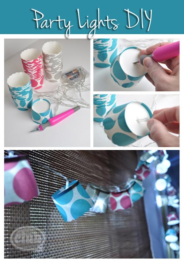 Cómo hacer una lámpara infantil