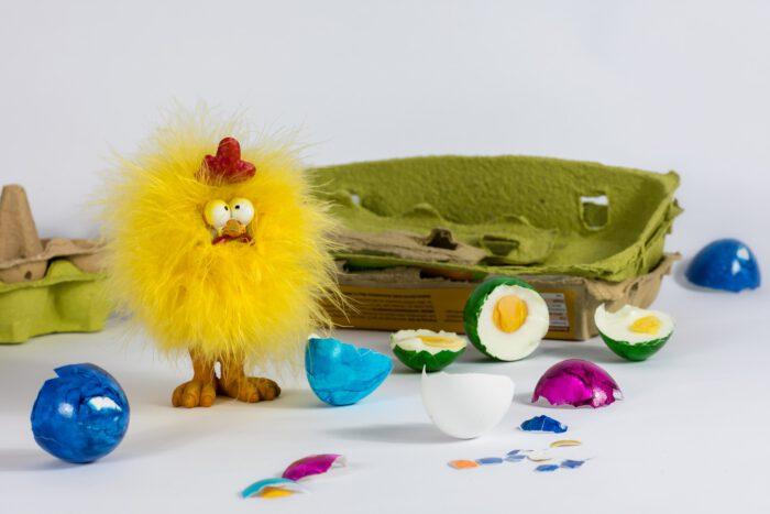 Manualidades hechas con cartones de huevos