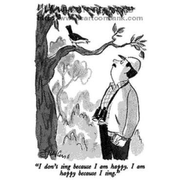 Źródła szczęścia trzeba szukać w sobie -ilustracja 4