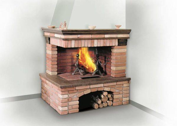 Каміни з цегли дров'яні: покрокова інструкція як зробити ...