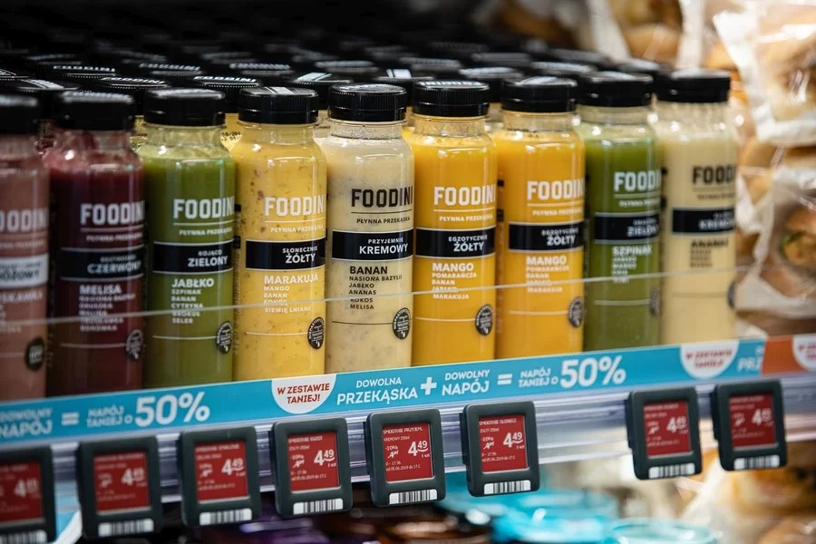 Foodini - pyszne smoothie tylko w Żabce