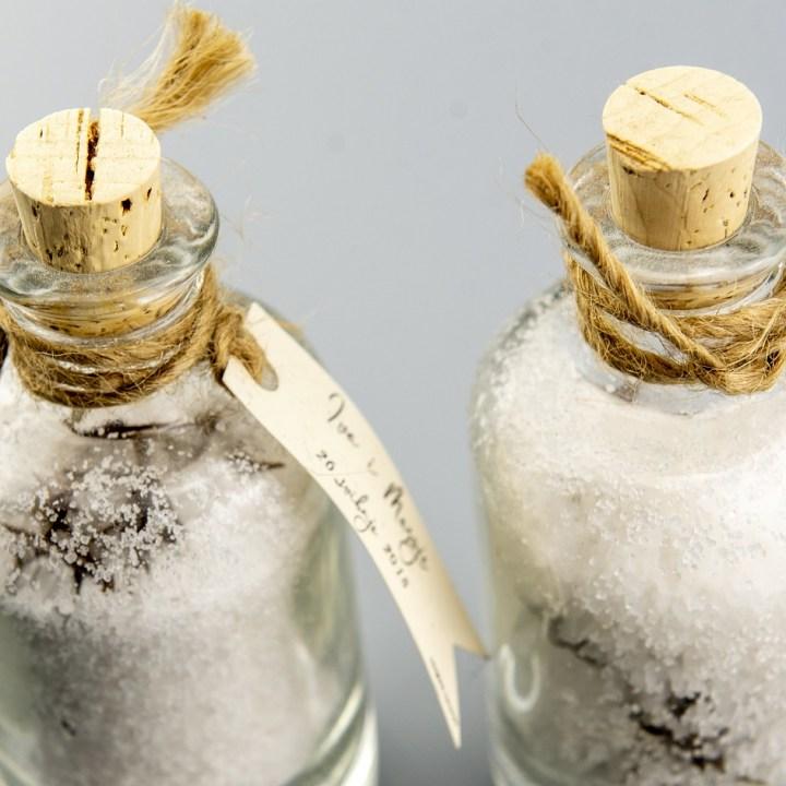 Sól w butelkach