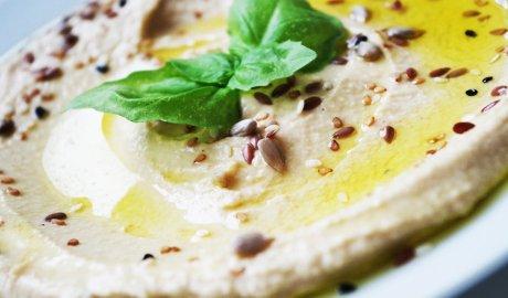 Tradycyjny hummus - pasta z ciecierzycy