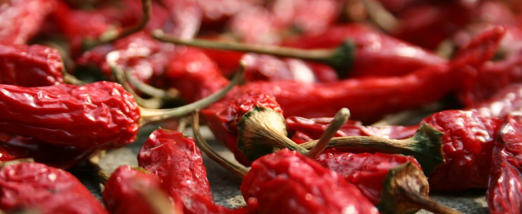 Papryczki chili - naturalne źródło kapsaicyny