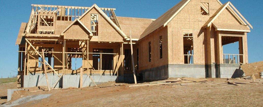 Konstrukcja domu wykonana z płyty OSB