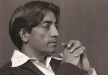 Jiddu Krishnamurti: Immaculate Mindfulness