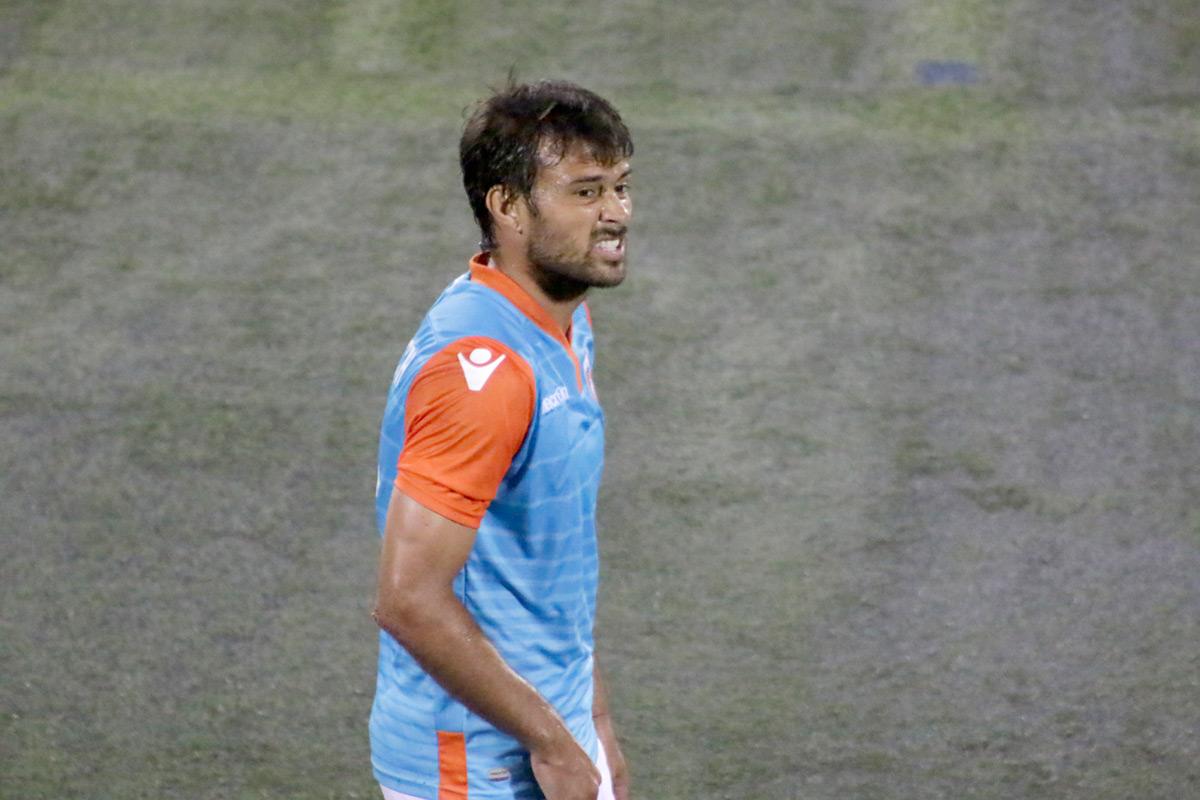 En la foto: Dario Cvitanich actual goleador del equipo con dos dianas.