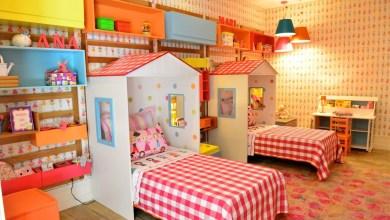 Photo of Decoração quarto compartilhado para meninas