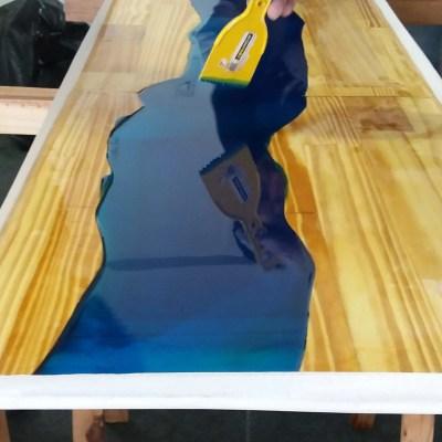 resina epóxi para madeira