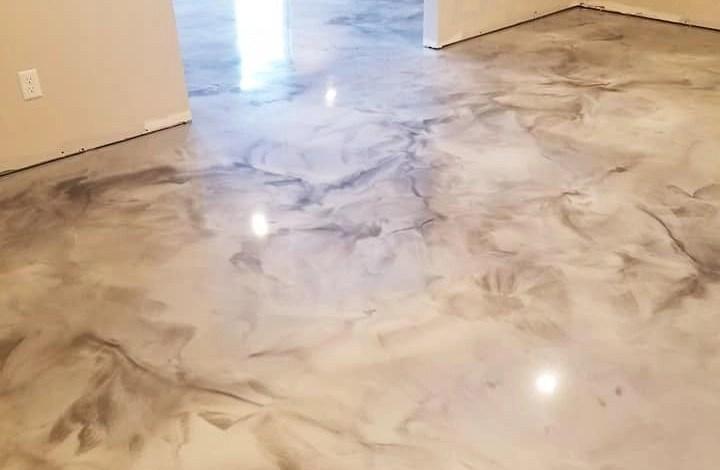 porcelanato liquido marmorizado