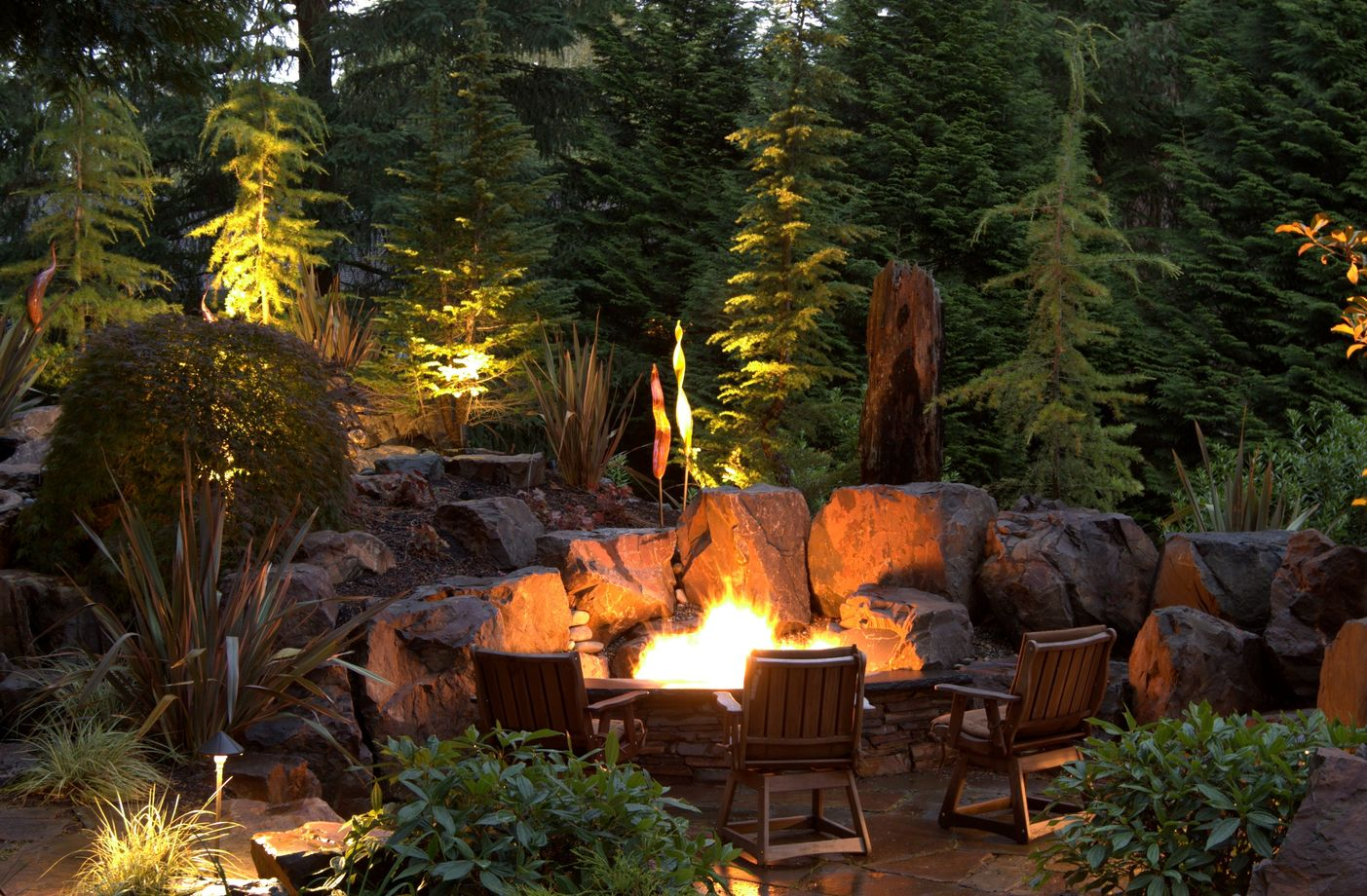 15 Fire Pit Ideas To Keep You Cozy Year Round on Garden Ideas With Fire Pit id=99659