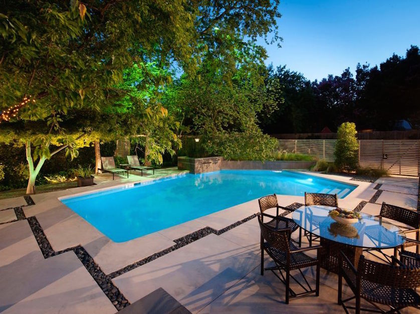 Before and After: A Modern Backyard Garden and Pool ... on Modern Backyard Ideas With Pool id=63454