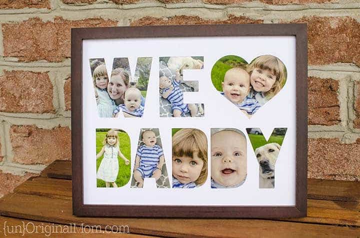 I would love to make this father's day gift!