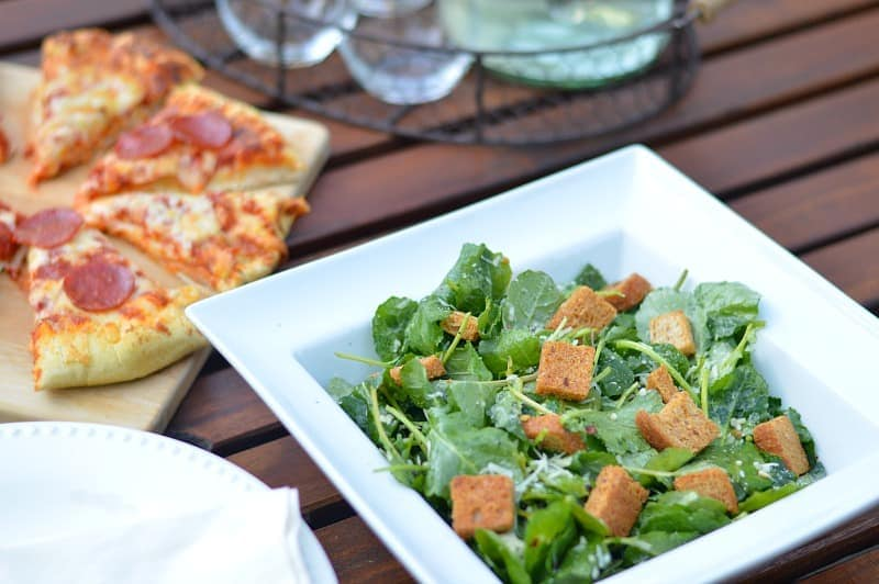 I definitely want to try this kale caesar salad! It looks delicious!