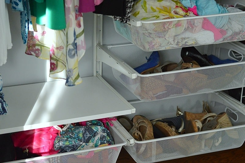 DIY Customizable IKEA Closet System