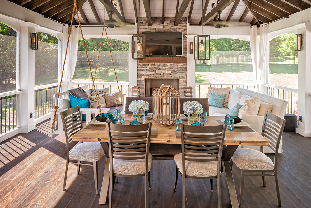 Sometimes a great outdoor living space isn't the best ... on Living Spaces Outdoor Dining id=31670