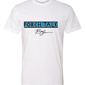 PORCHTALKBOYZ T-SHIRT – S, White