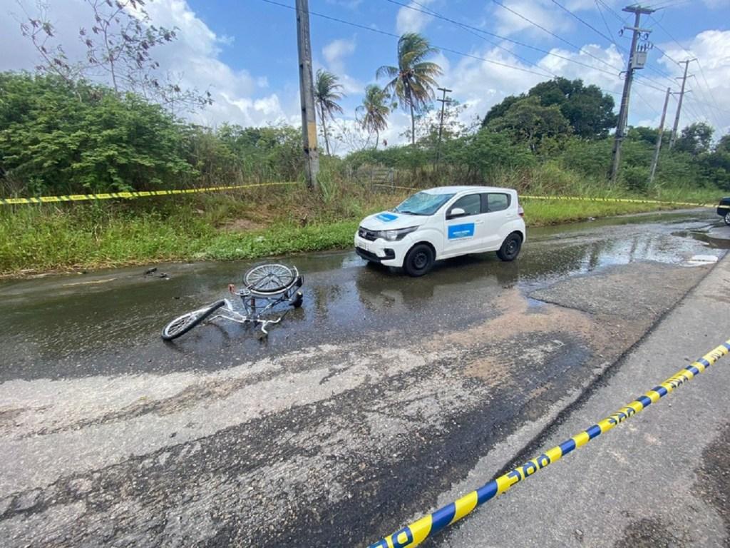 Ciclista morre após ser atropelado em trecho da BR-304 em Parnamirim II
