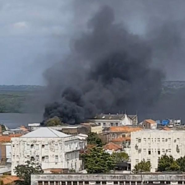 Incêndio destrói peixaria no bairro da Ribeira, em Natal; ninguém ficou ferido